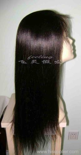 Stock yaki color 2# 18 inch accept paypal lace wig