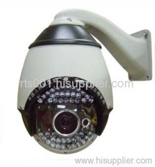laser IR high speed dome PTZ camera