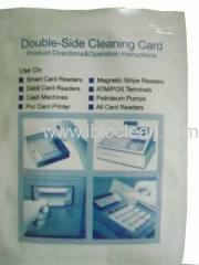 ATM cleaning card