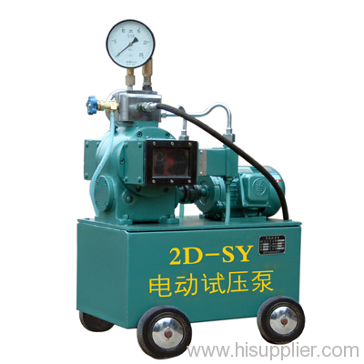 2D-SY25MPa electric hydraulic test pump