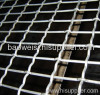 Electro-galvanized crimped wire meshes