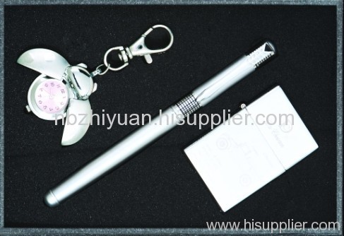 Promotion Silver Metal Pen Gift Sets