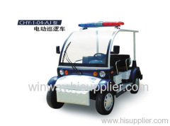 electric vehicle for patrol