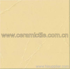 Golden Beige Polished Porcelain Tile, Porcelain Floor Tile
