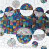 Stained Glass Mosaic Pattern, Glass Pattern Tile