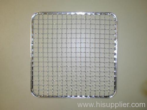 Iron square wire netting