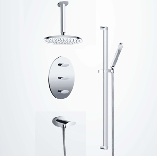 Designer Thermostatic shower System