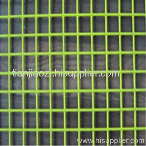 plastic coated welded mesh panel