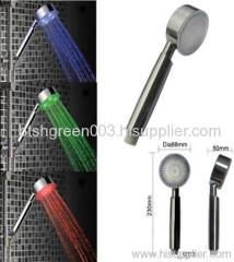 Seven color changing shower head