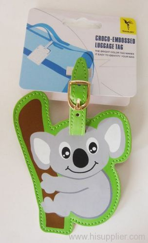 small mouse Luggage Tag