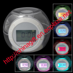7 Color Changing Light Alarm Clock