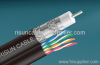 RG6 Quad + Cat5e Cable