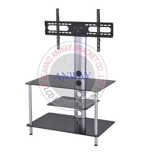 Universal Tempered Glass TV Stand