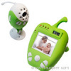 ST-BM301 Lovely Apple 2.5 Inch Wireless Baby Monitor