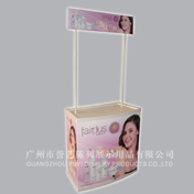 PP curved shape promotion stand