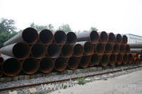 Petroleum cracking steel pipe