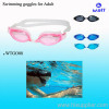Silicone swimming goggle,swimming goggle,swim goggle,swimming glass