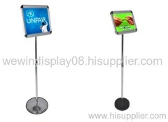 Poster display,poster stand,floor poster stand,sign holder,poster board