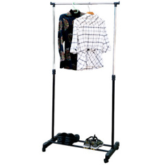 Metal foldable garment rack