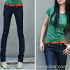 ladies fashion cheap jean