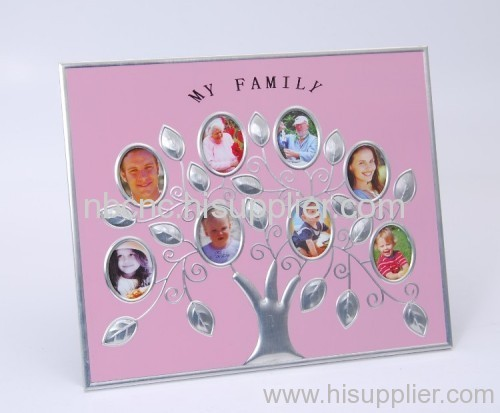 China photo frame family tree