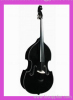 Double Bass (All Black) Violin Viola Cello Guitar String Instrument