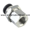 Bulkhead Female Straight pneumatic tubing fittings