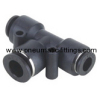 Different Diam Union Tee Pneumatic fittings Bell prestolock fitting pneumatic fitting supplier from china