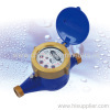 15mm Multi-jet liquid-sealed type cold water meter