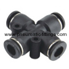 Union Cross Plastic tubing fittings