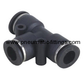 Union Tee Plastic fitting supplier from china pneumatic fitting supplier from china