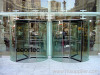 crystal revolving door
