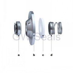 Sanitary pump seals . APV PUMP SEALS