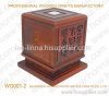 carved wooden gift box