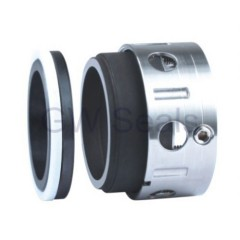 o-ring mechanical seal balanced design with multiple spring for industrial process pumps.