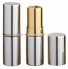 Silver Aluminum Lipstick Containers