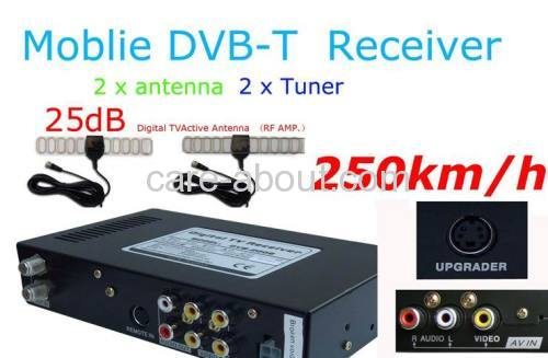 Car DVB-T Digital TV Receiver
