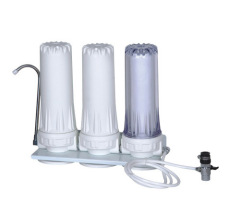 3stage triple top counter water filter