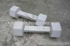 Dumbbell handles for WIIFIT