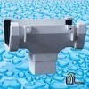 PVC Square Rainwater Fitting tee