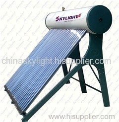 Domestic Compact Vacuum Tube Solar Water Heater