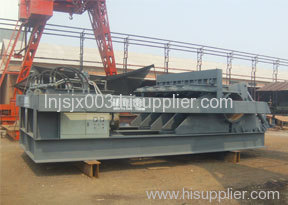 Scrap steel wrapping machine