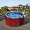 BLUE ROUND OUTDOOR SPA
