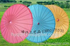 Craft paper umbrella