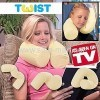Memory Foam Twist Pillow