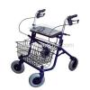 Rollators foldable steel frame 4 wheels with seat