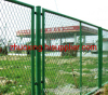 pvc coated Expanded Metal Fence for transportation