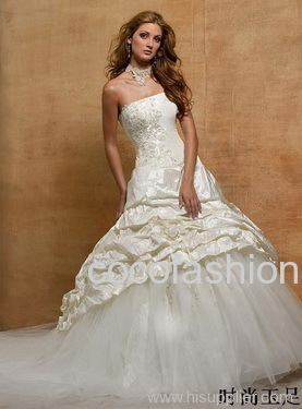 Wedding dresses, 2010 latest design bridal gown