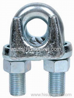 JIS A type wire rope clip