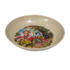 Biodegradabel Flowered Dinner Plate